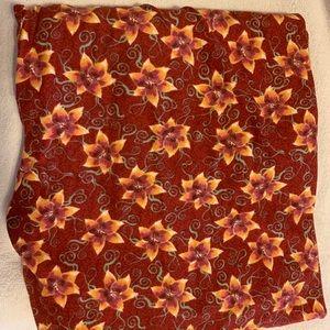 LulaRoe floral TC leggings. Never worn.